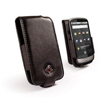 Tuff-Luv Etui en cuir nappa pour téléphone mobile Google Nexus One / HTC Desire (Import Royaume Uni)