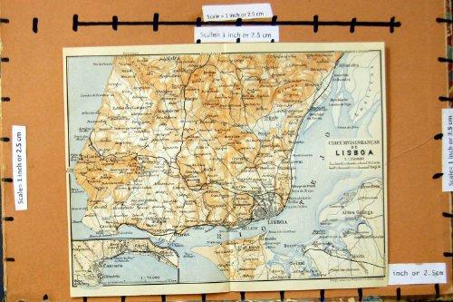 mappa-lisbona-1913-portogallo-cascaes-oeiras-collares-cintra