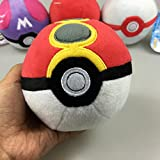Generic 12Cm Pokeball Plush Toys High Quality Ball Plush Toy