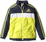 (アディダス)adidas トレーニングウェア adidas24/7 強ブレ ジャケット(裏起毛) BVA31 [ボーイズ] AZ7497 ショックスライムF16/カレッジネイビー J130