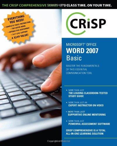 Microsoft Office Word 2007: Basic (Crisp Comprehensive)