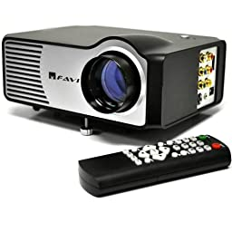 FAVI RioHD-LED-2 Mini Projector with 100\