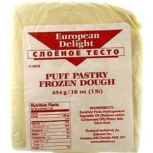 Amazon.com : Puff Pastry Frozen Dough ( 454g / 16oz