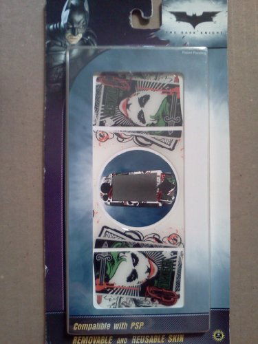 The Dark Knight Removable and Reusable Psp Skins