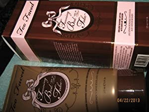 Too Faced Tanning Bed In A Tube Sunless Tanning Lotion with Instant Bronzer 177ml/6oz from Too Faced