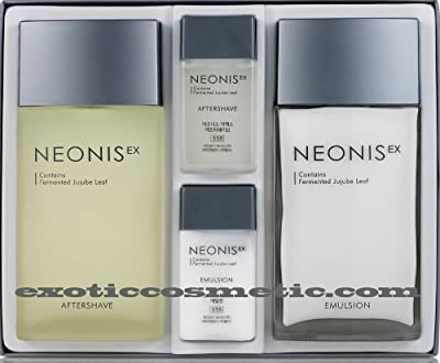 Neonis Facial Skin Care Lotion Aftershave Set For Men from Welcos
