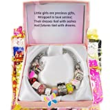 Timeline Treasures European Charm Bracelet Fits Pandora Lampwork Glass Just for Girls 2013