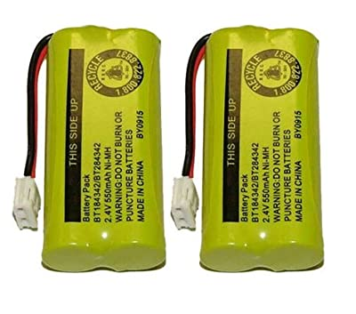 Axiom Rechargeable Battery For AT&T and Vtech Phones BT-8300 / BATT-6010 / BT18433 / BT184342 / BT28433 / BT284342 / 89-1326-00-00 / 89-1330-01-00 / CPH-515D