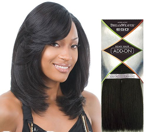 Hair extensions ego remi human hair weave add on color 1 jet black pmusecretfo Gallery