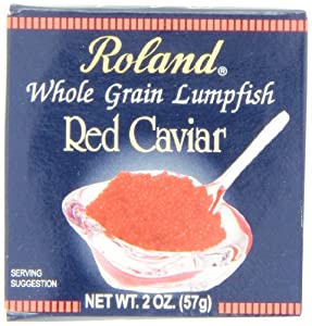 Roland Red Caviar, 2-Ounce Box (Pack of 2)