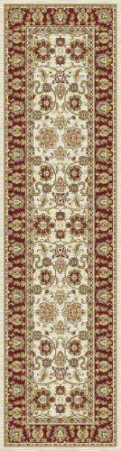 Kashmir Agra Ivory Rug 7'10