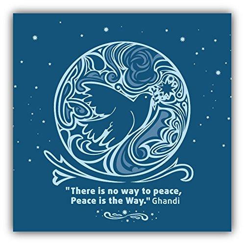 bird-there-is-no-way-to-peace-greenpeace-slogan-hochwertigen-auto-autoaufkleber-12-x-12-cm