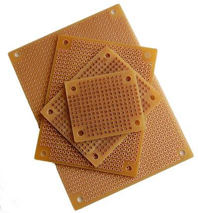 Solderable Copper Pad Perf Board Assortment (8 Pack)