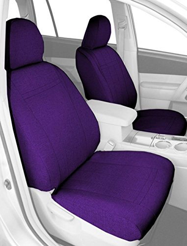 CalTrend Front Captain Chairs Custom Fit Seat Cover for Select Hummer H2 Models - Tweed (Purple) (Hummer H2 Caltrend compare prices)