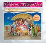 Shepherds Advent Calendar with Advent Candle