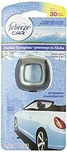 Febreze Car Vent Clips Air Freshener, Alaskan Springtime