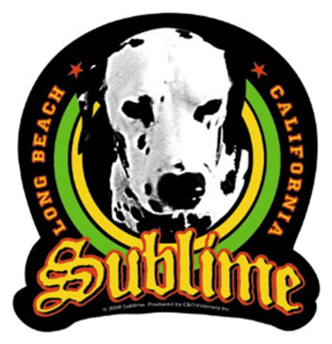 Licenses Products Sublime Loudog Sticker