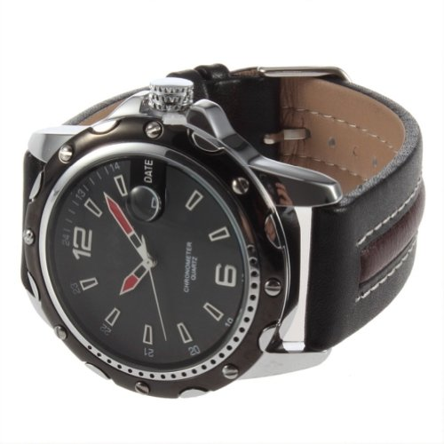 Deluxe CURREN Dial Clock Hours Hand Date leather Men Wrist Watch Water Resistant GN (Cooking Shoes For Men compare prices)