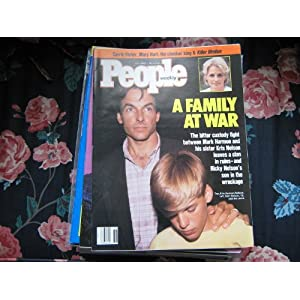 People Weekly Mark Harmon Sister Kris Nelson Ricky Nelson 39 S Son