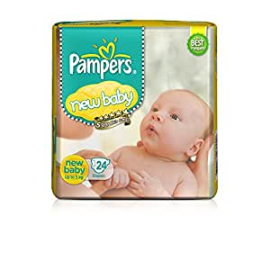 buy pampers new baby diapers 24 count online at low. Black Bedroom Furniture Sets. Home Design Ideas