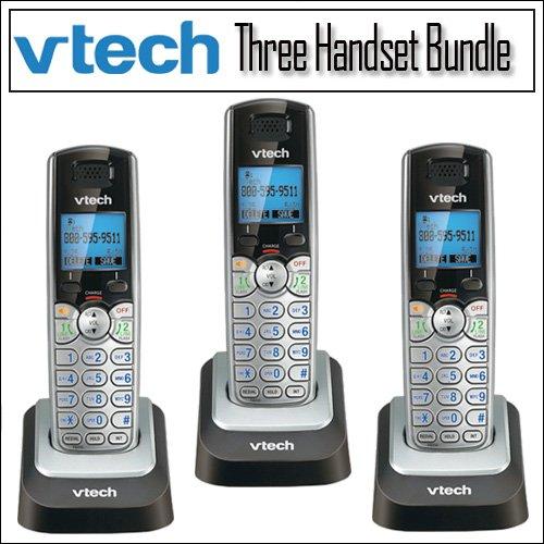 Vtech Ds6101 Dect 6.0 2-Line Cid Speaker Handset 3-Pack