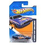 2012 Hot Wheels HW Racing 70 Dodge Hemi Challenger #174/247