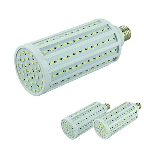 Voberry New Ac 220V E27 50W 165 5630 Smd Led Corn Light Lamp Bulb Coolwhite(Coolwhite-220V)