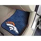 Denver Broncos NFL Car Floor Mats (2 Front)