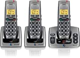 BT Freestyle 750 3 digital cordless handsets + Answering machine- Titanium Grey