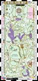 Streetwise Central Park Map - Laminated Pocket Map of Central Park, New York - Folding wallet size map for travel