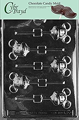 Cybrtrayd Mouse Lolly Mickey Animal Chocolate Candy Mold