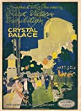 C1921 Vintage LONDON'S CRYSTAL PALACE The Victory Exhibition Programme Cover 250gsm Gloss ART CARD A3 Reproduction Poster