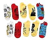 Disney Beauty And The Beast No-Show Socks