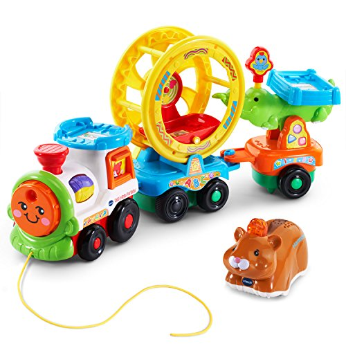 VTech Go! Go! Smart Animals Roll and Spin Pet Train (Frustration Free Packaging)