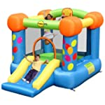 Duplay Party Slide and Hoop Bouncy Castle 9070