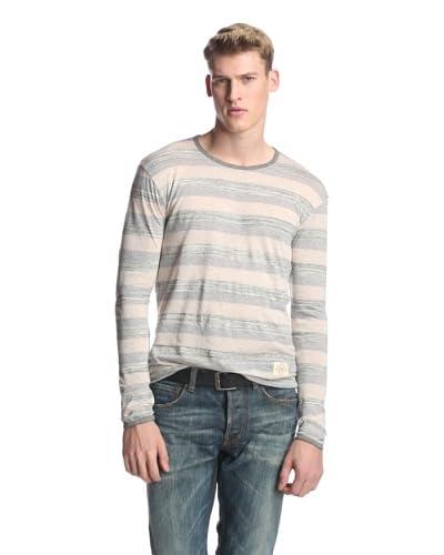 Kinetix Men's Toronto Striped Long Sleeve Shirt