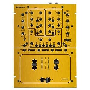 brushed gold vinyl overlay skin for rane ttm57 mixer musical instruments. Black Bedroom Furniture Sets. Home Design Ideas