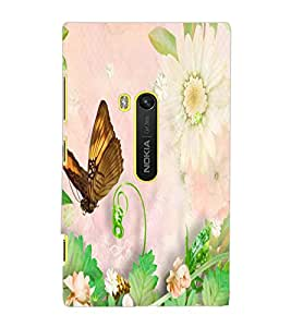 NOKIA LUMIA 920 BUTTERFLY Back Cover by PRINTSWAG