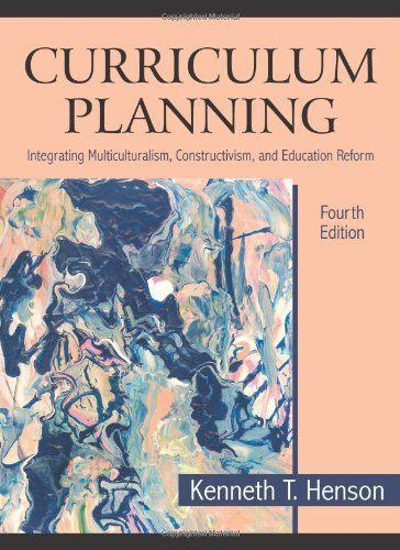 Curriculum Planning: Integrating Multiculturalism,...