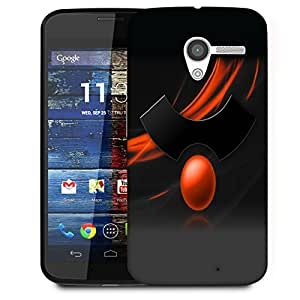 Snoogg Abstract Symbol Designer Protective Back Case Cover For Motorola Moto X