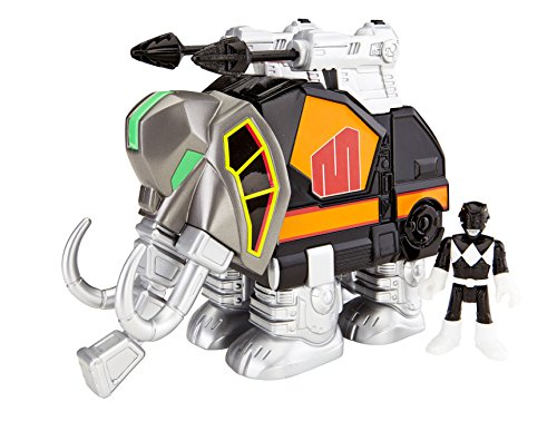 Fisher-Price Imaginext Power Rangers Black Ranger And Mastadon - 1