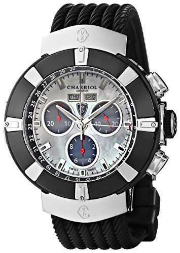 Charriol-Celtica-Mens-Mother-of-Pearl-Dial-Quartz-Chronograph-Watch-C44B173002