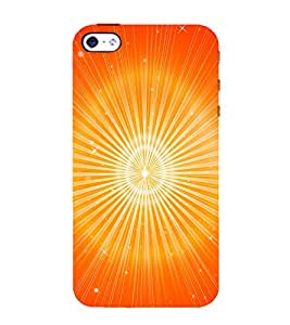 printtech Abstract Pattern Aura Back Case Cover for Apple iPhone 4S