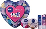 Product Image of Nivea Luscious Lip Moments Gift Set for Women's - 4 Pieces