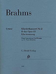 Piano Concerto no. 2 in Bb Major - Op 83 - piano reduction - urtext - ( HN 1231 ) from G. Henle Verlag