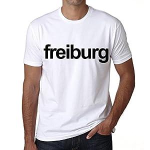 Freiburg tee shirt herren,t shirts,t shirt herren mit aufdruck,weiß,Baumwolle