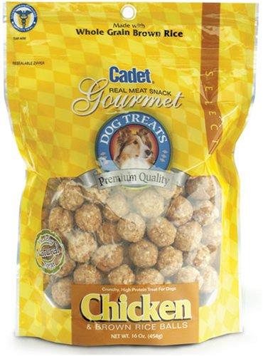 Brown Rice Balls Dog Treat, Large Chicken