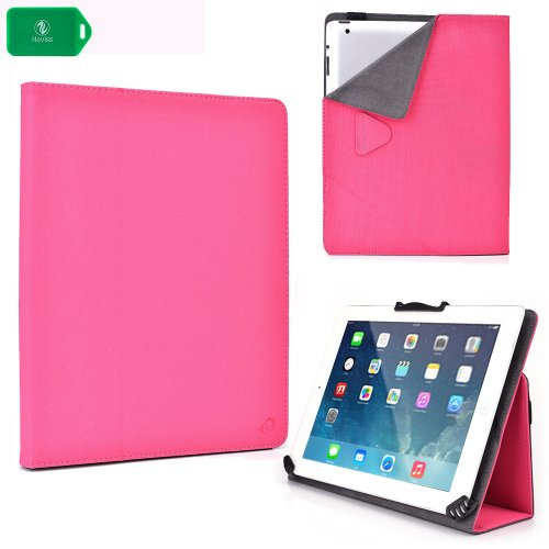 SKYTEX 10s 10-Inch Quad Core Tablet Protective Tablet Case with Multi Angle Stand in Pink (10 Inch Quad Core Tablet compare prices)