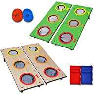 GoSports 3 Hole CornHole Washer Toss…