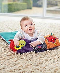Mamas & Papas Tummy Time Snugglerug Activity Toy